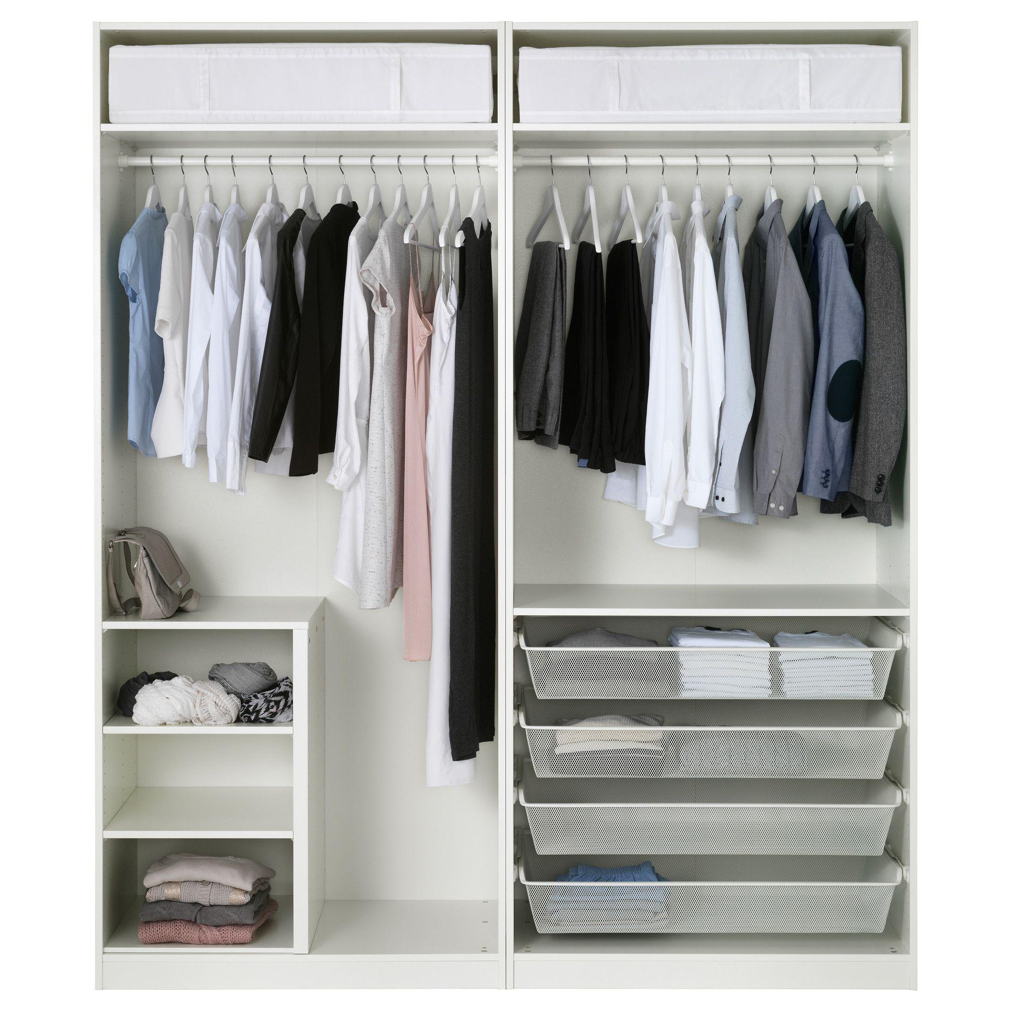 PAX Wardrobe White, Bergsbo White In 2019