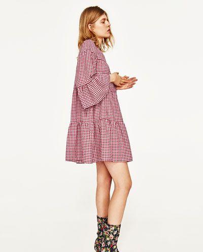 ABITO MINI VICHY DETTAGLIO 39,95 EUR Zara. com