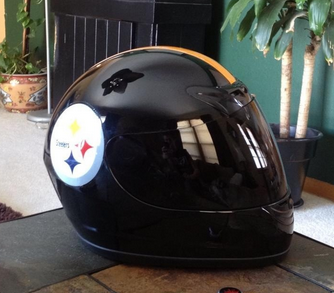 new styles 5fb02 6967d NFL Themed Motorcycle Helmets - The love of Football ...