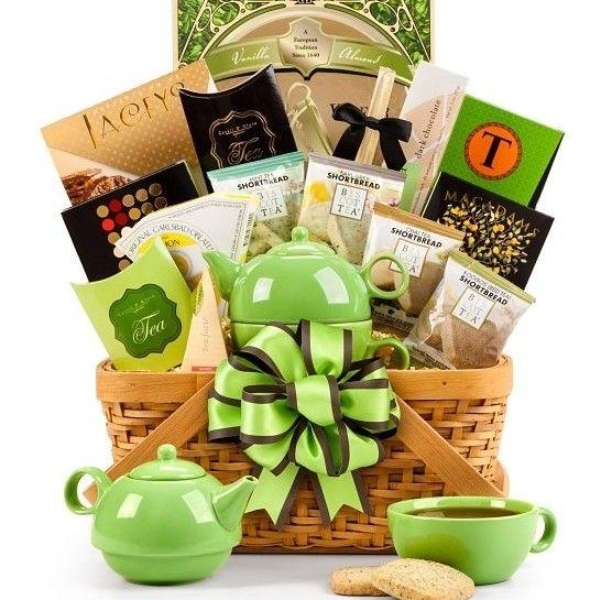 Tea Lover Gift Basket