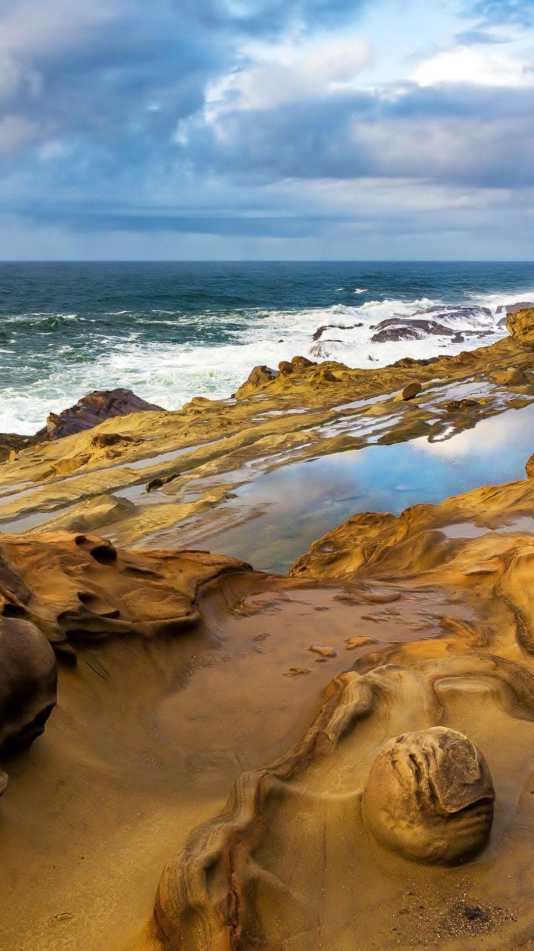 Landscape 4K Ultra HD Wallpaper Ocean landscape 4K Ultra