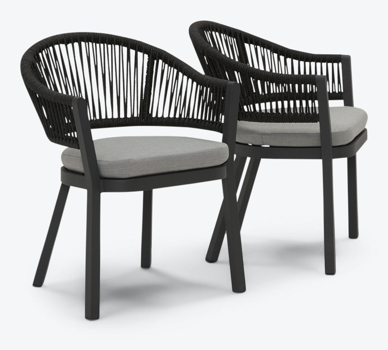 catalina outdoor dining chair set of 2
