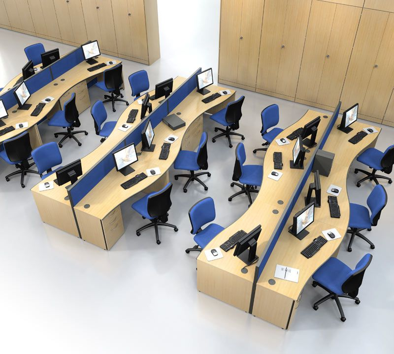 1000 images about office planning on pinterest desks system furniture and office desks blue curved office desk dividers