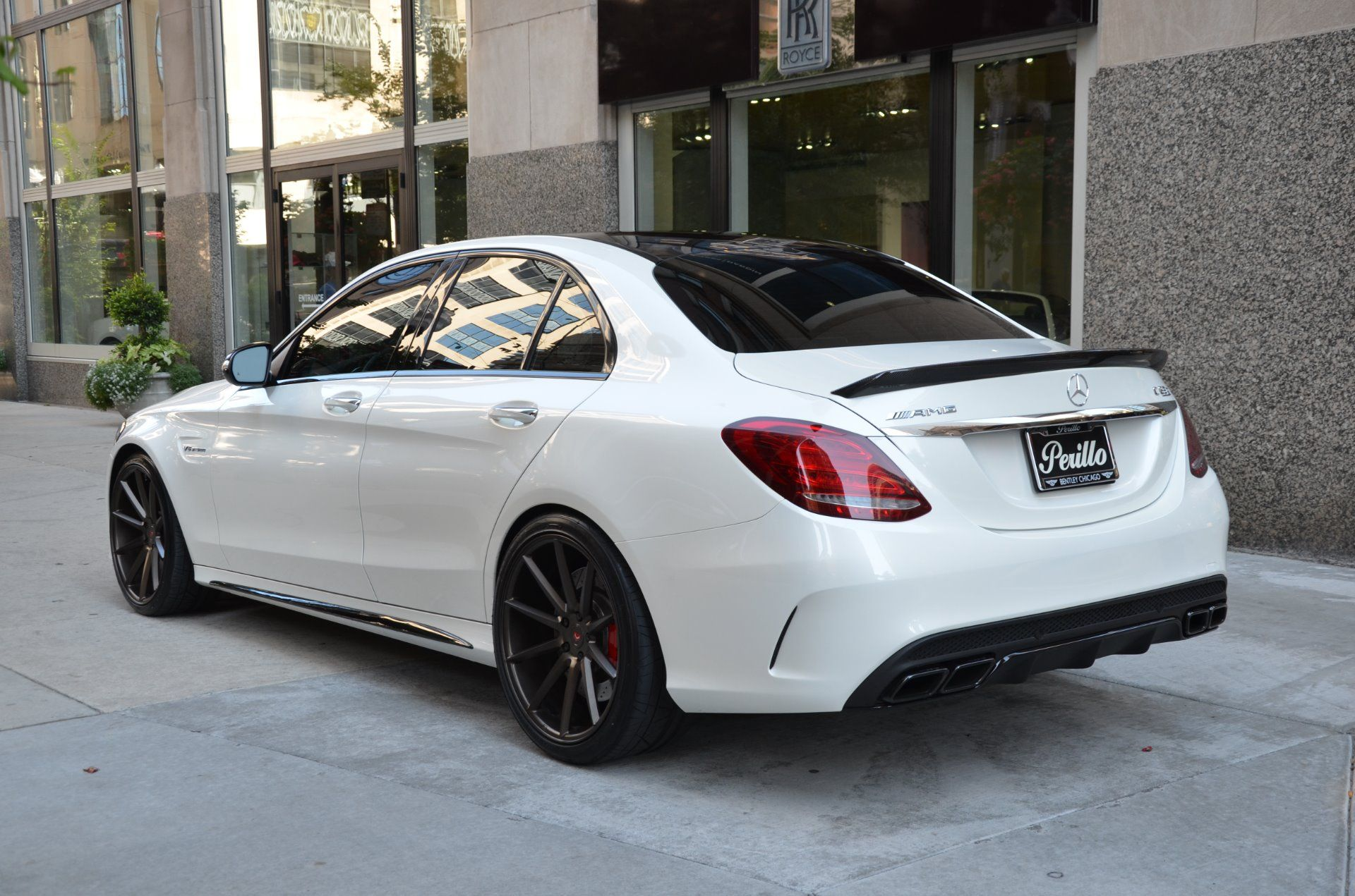 Used 2015 Mercedes Benz C Class C63 S Amg Chicago Il With