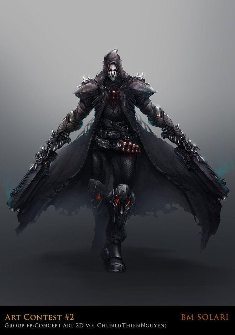 Reaper by bmsolari.deviantart.com on @DeviantArt