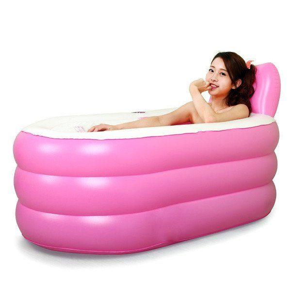 Fashion Adult SPA Inflatable Bath Tub with Electric Air Pump ...