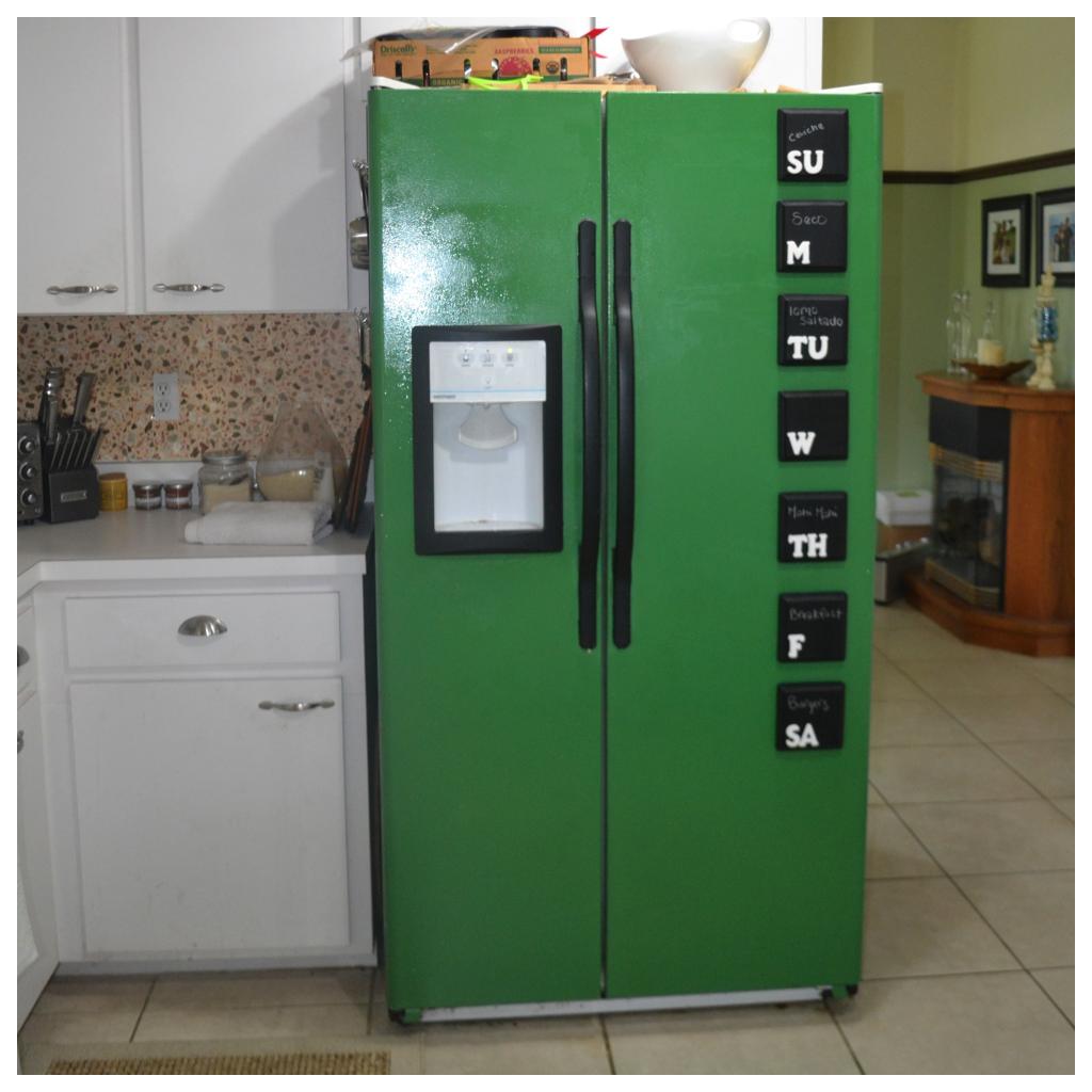 green refrigerator | The Green Refrigerator Post