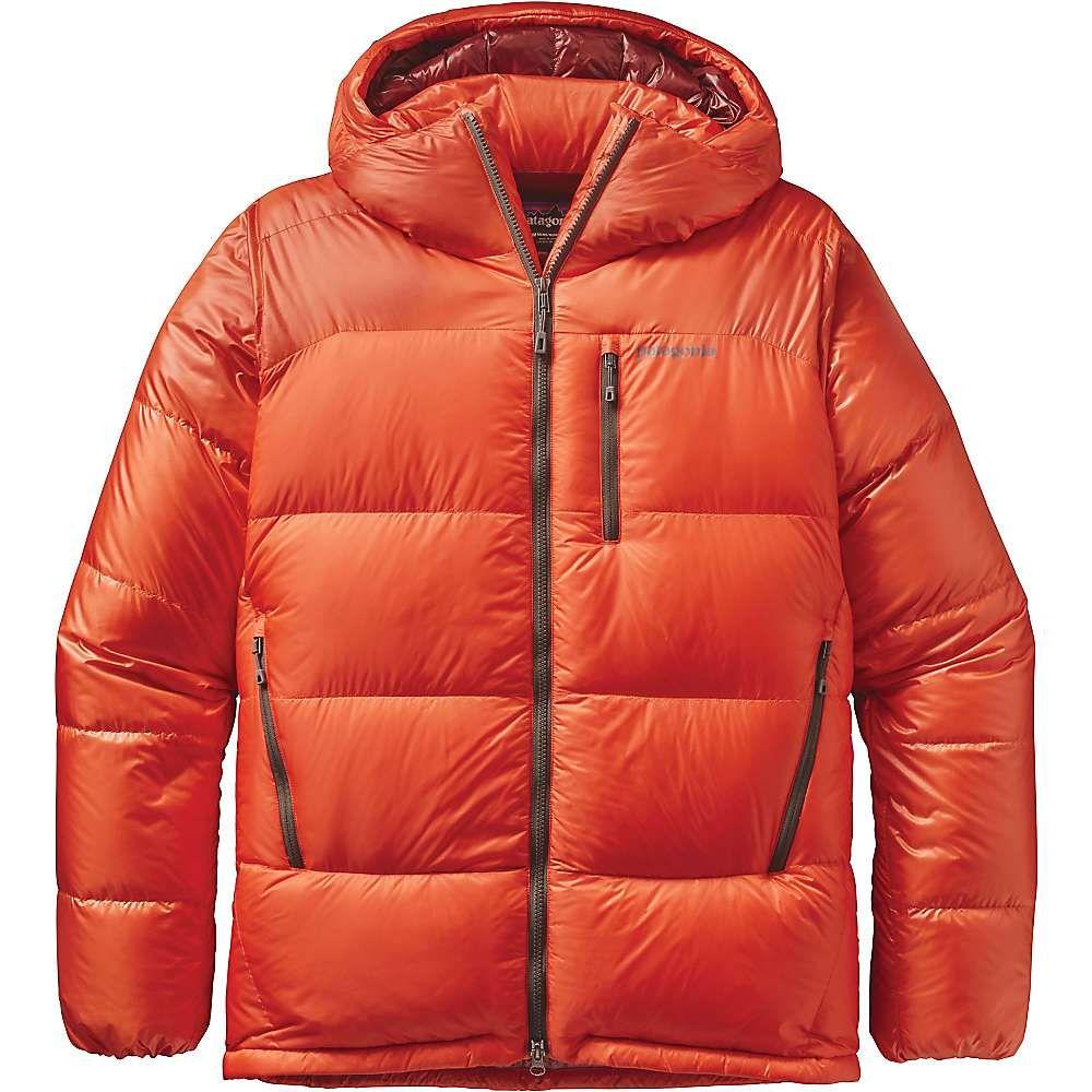 Patagonia Men's Fitz Roy Down Parka XS Cusco Orange