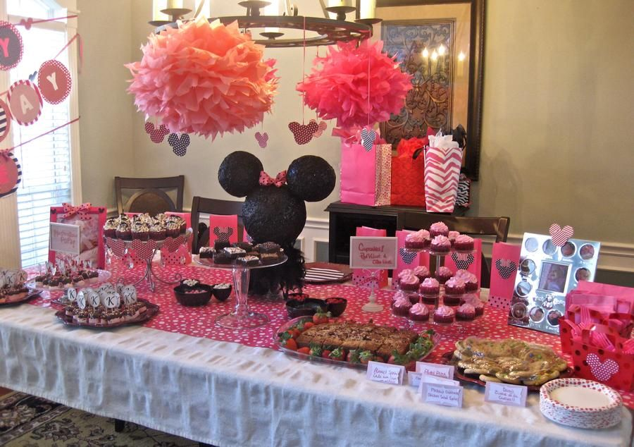 Mini Mouse 1st Birthday Party from Hostess With The Mostest