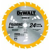 7 1 4 Carbide Blade Dw3578b10 By Dewalt Circular Saw Blades