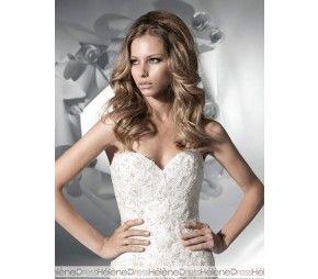 Amazing A-Line Sweetheart Sleeveless Floor-Length Chapel Beaded Wedding Dresses