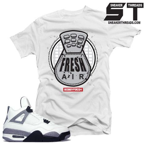 93f6f0de6765 Sweater match Jordan 4 white cement retro 4 s. Fresh cement crews ...