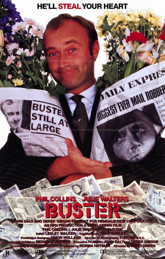 Phil Collins in BUSTER (1988)