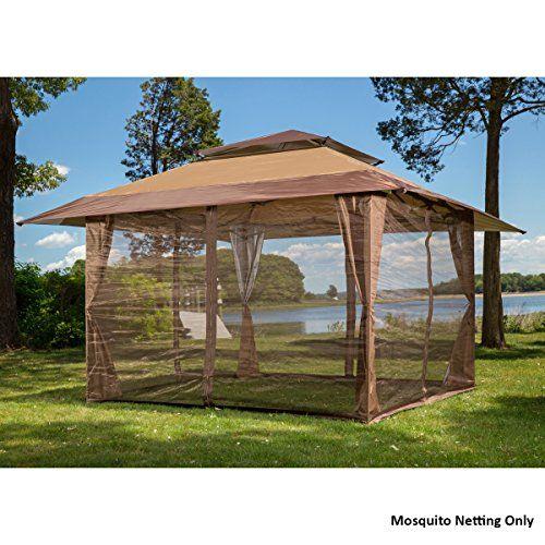 Canopies Gazebos and Pergolas - 10 x 10 Mosquito Netting Panels for Gazebo Canopy *  sc 1 st  Pinterest & Canopies Gazebos and Pergolas - 10 x 10 Mosquito Netting Panels ...