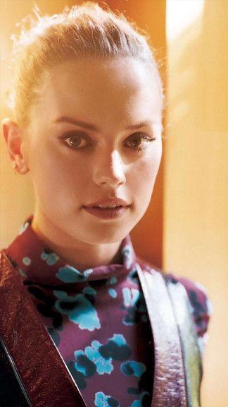 Actress Daisy Ridley IPhone 6 Plus Wallpaper