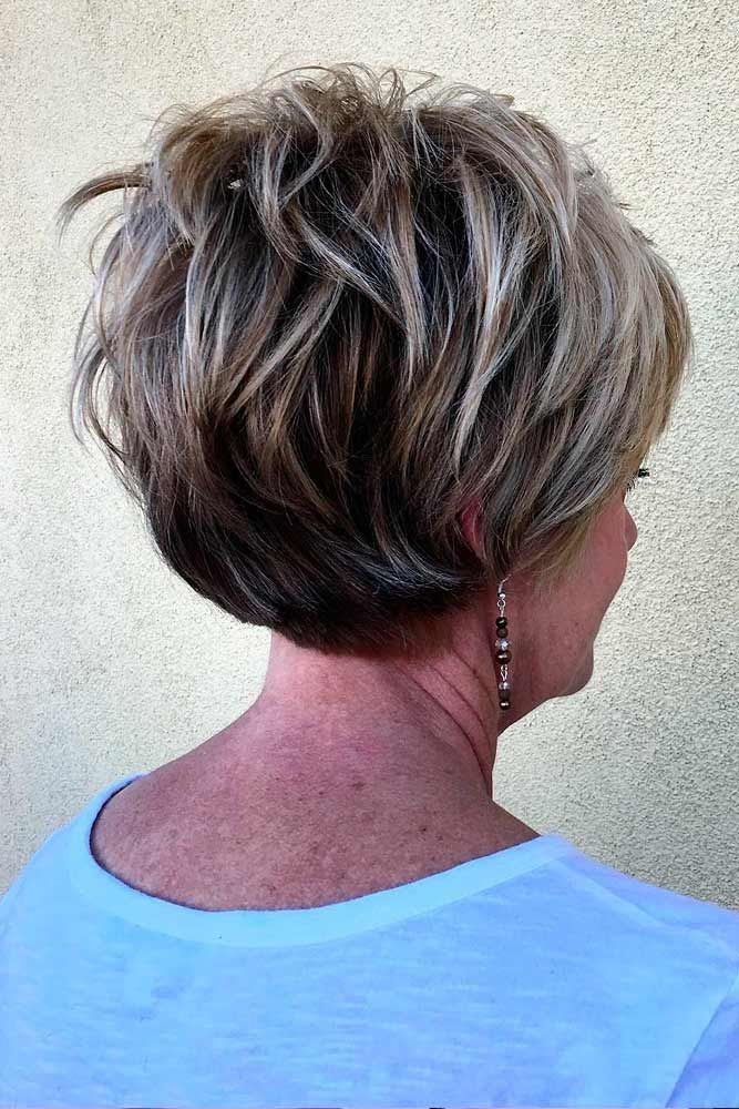 44 Stylish Short Hairstyles For Women Over 50 | Short Hairstyle, Shorts And  Hair Style