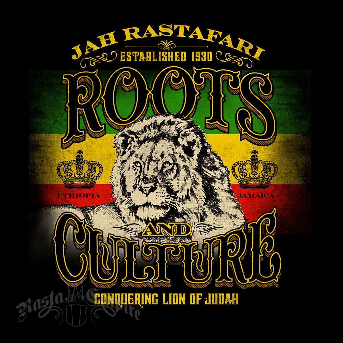 LION OF JUDDAH SKULL CROWN MARIJUANA WEED RASTA RASTAFARIAN T-SHIRT