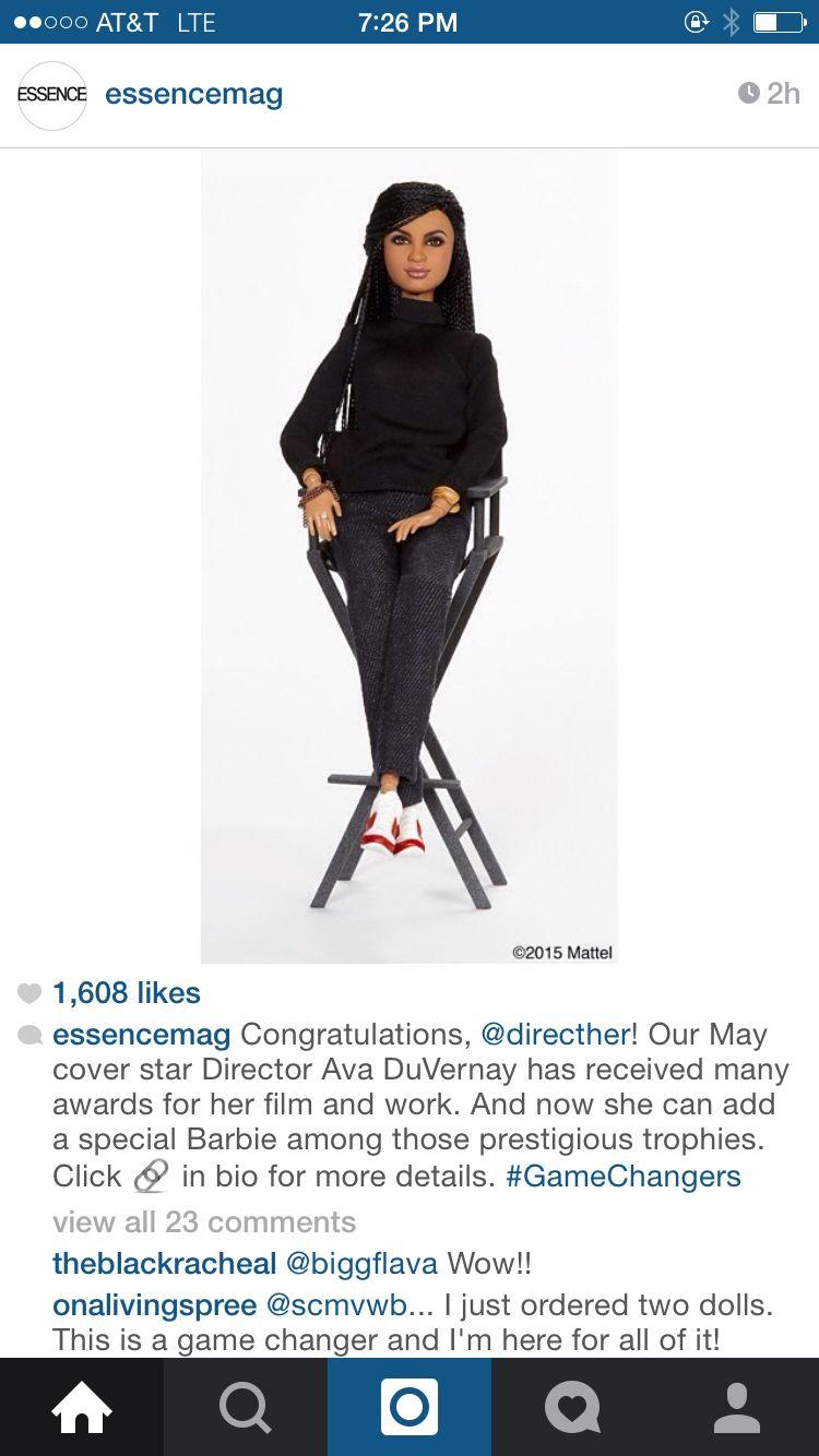 Awesome. Ava DuVernay's Barbie.