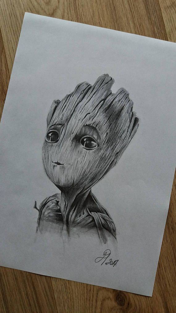 Baby Groot Drawing Www Instagram Com Drart82 Drawing Tattoos