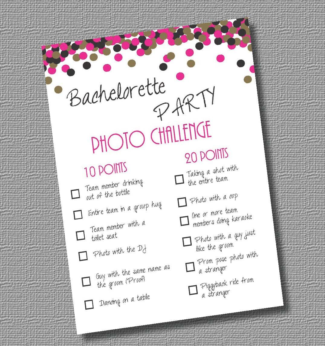 INSTANT DOWNLOAD / PDF Bachelorette Party by InStyleInSpirations ...