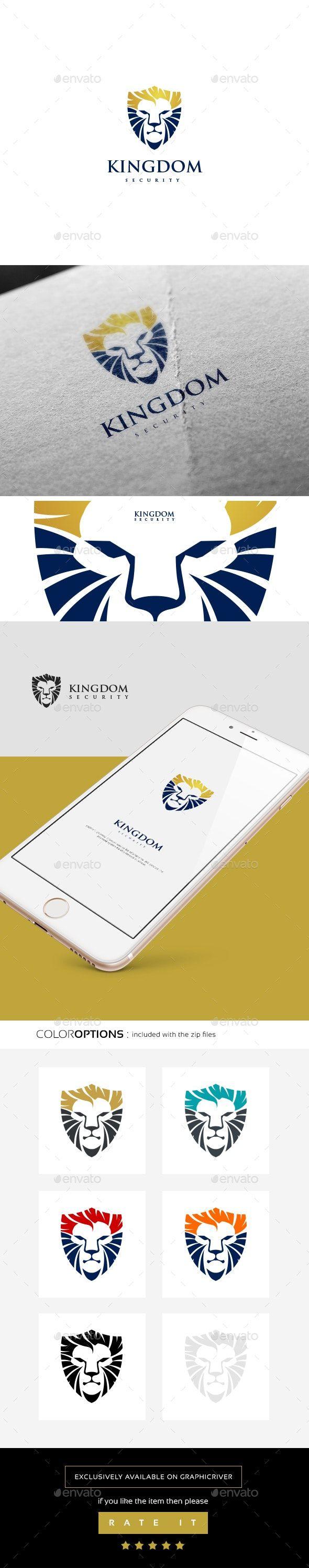 The Lion Logo Animal Logo Design Template by golden_cursor.