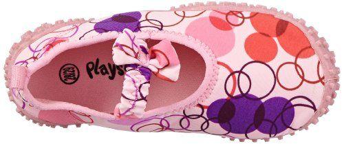 Playshoes Aquaschuhe, Badeschuhe Retro mit höchstem UV-Schutz nach Standard 801 174771 Unisex - Kinder Dusch- & Badeschuhe