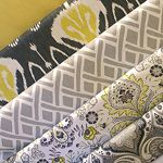 Love this collection of fabrics. We have more options than you can imagine. Fabric by the yard at Emory Anne Interiors.