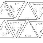 Tarsia puzzle: solving inequalities
