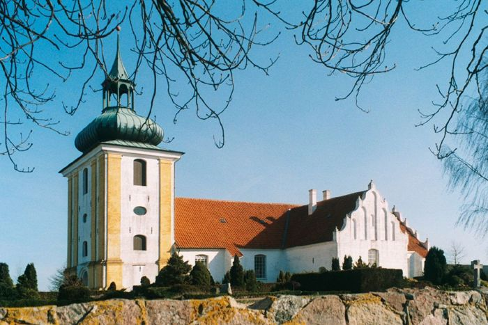 Husby Kirke I Vends Herred Danmark