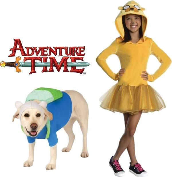 Pet and Owner Costume Ideas #adventuretime #Halloween #costumes  sc 1 st  Pinterest & Fun Pet and Owner Costume Ideas for Halloween 2015 | Pinterest ...