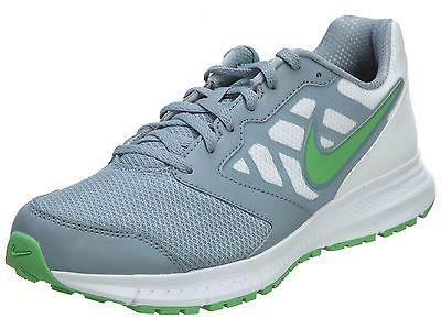 ec97bc06e9fb Nike Downshifter 6 Msl Mens 684658-008 Grey Green Athletic Running Shoes Sz  10