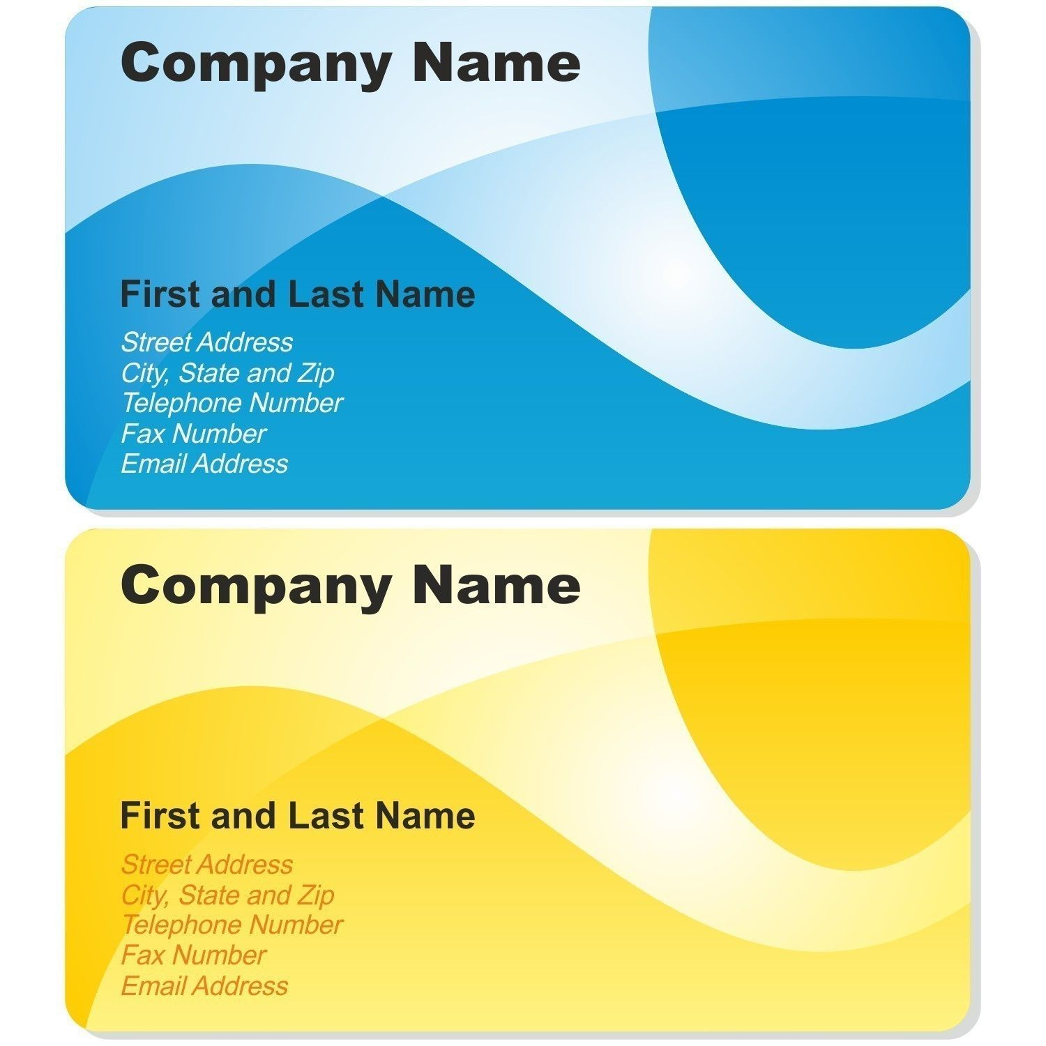 Make Your Custom Blank Business Card Template Coreldraw For Free Graphic Design Business Card Visiting Card Design Simple Business Cards