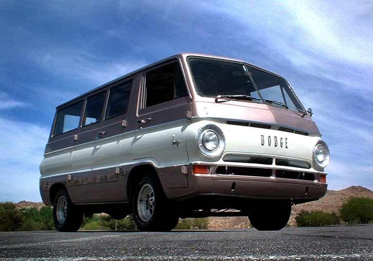 Dodge van a100.