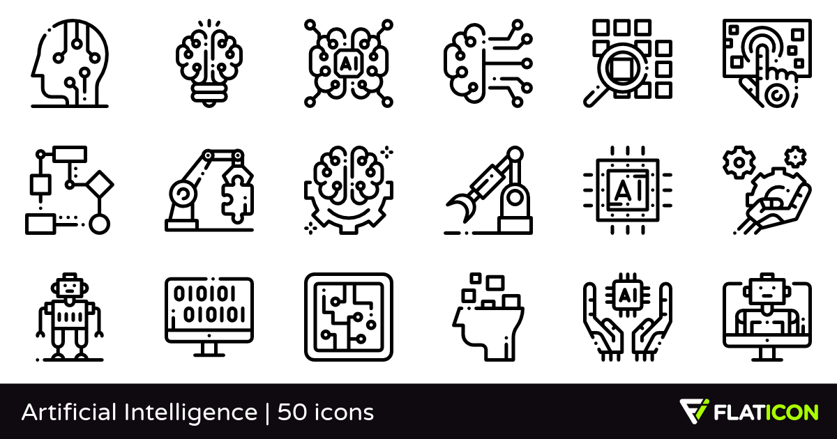 50 Free Vector Icons Of Artificial Intelligence Designed By Freepik Artificial Intelligence Art Artificial Intelligence Machine Learning Artificial Intelligence