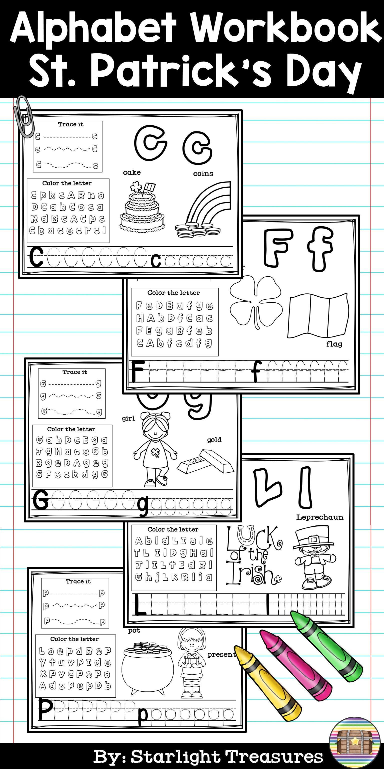 Alphabet Workbook Worksheets For A Z