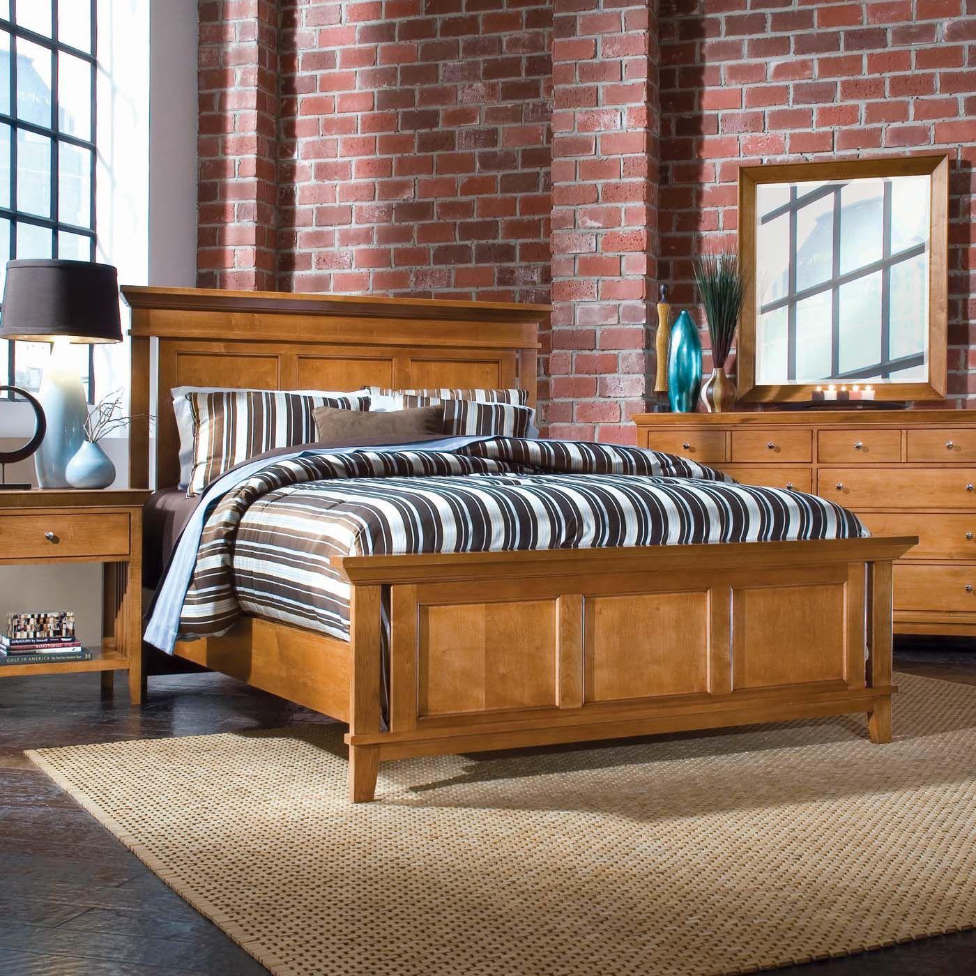 American Drew 181 313c Sterling Pointe Panel Headboard Bedroom