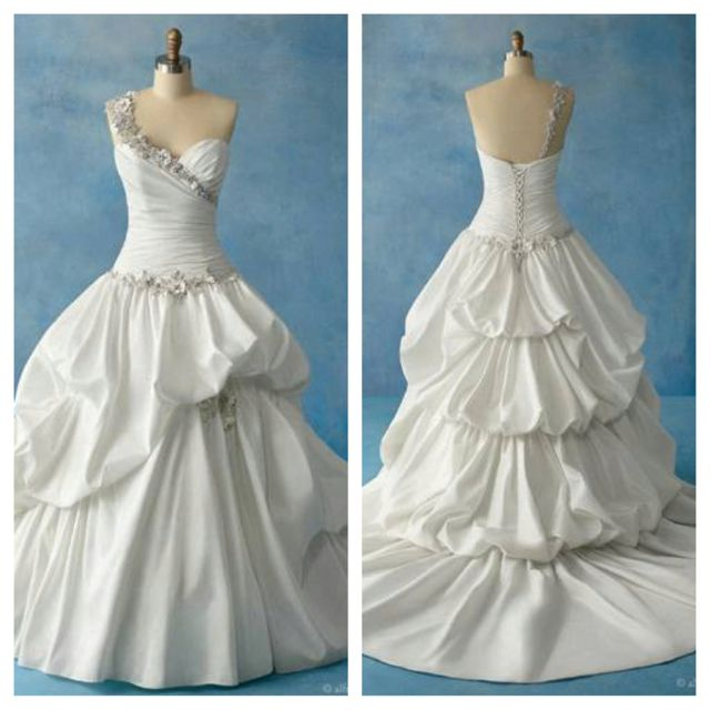 Disney\'s Princess Tiana wedding gown by Alfred Angelo | For If And ...