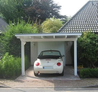 front carport carportvor garage carport pinterest. Black Bedroom Furniture Sets. Home Design Ideas