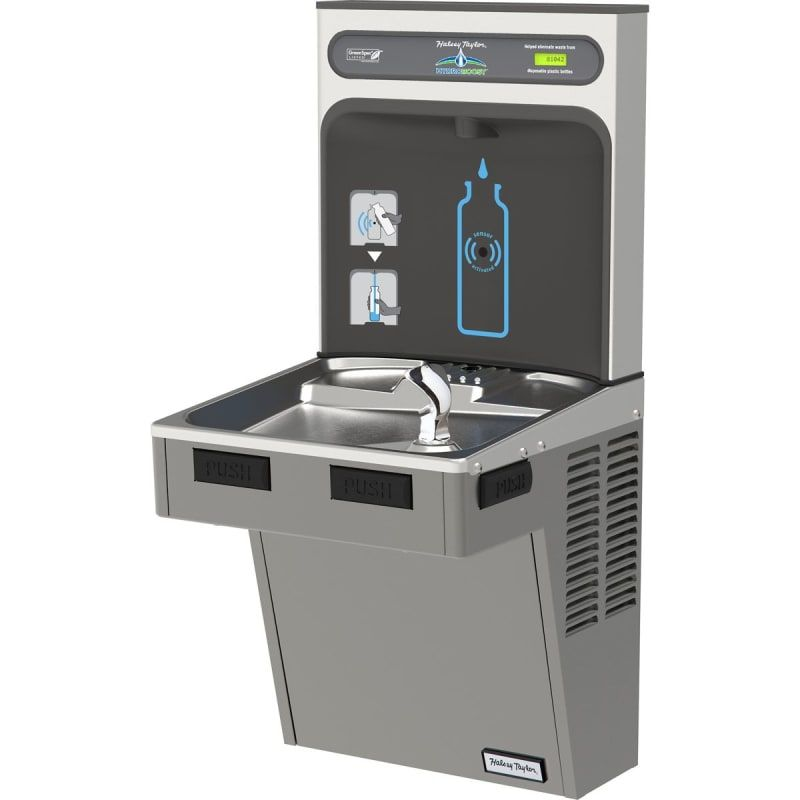 Halsey Taylor HTHB-HAC8-NF HydroBoost® Single Station Indoor Water ...