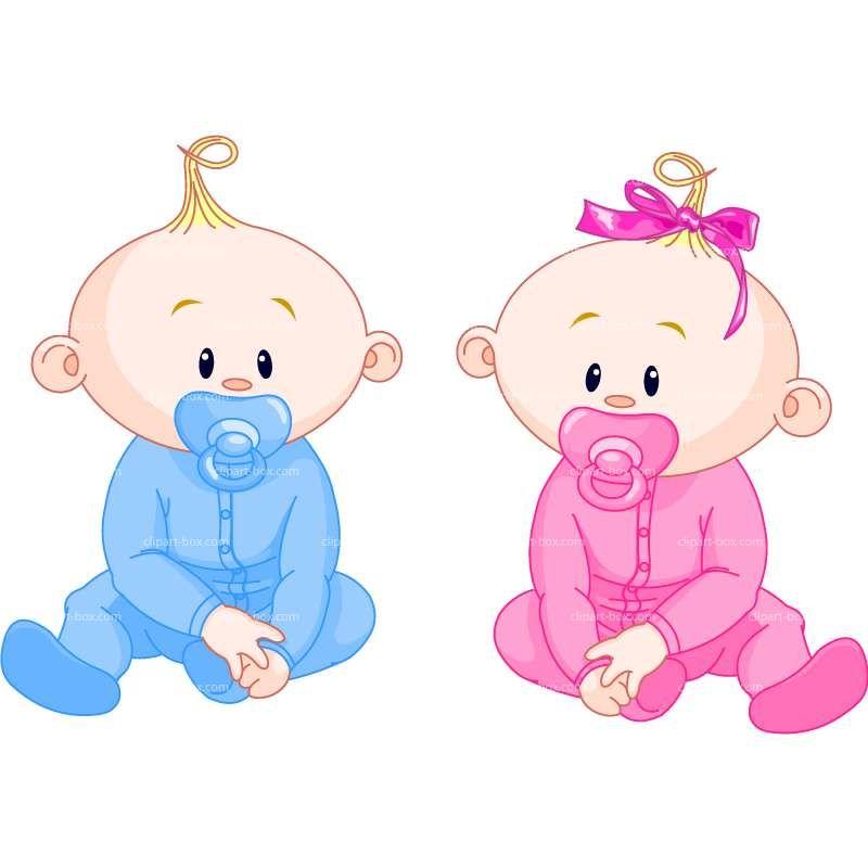 CLIPART CUTE BABIES | Royalty free vector design | Tu y tu ...
