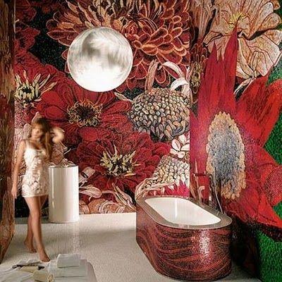 Best 25 Mosaic Tile Bathrooms Ideas On Pinterest