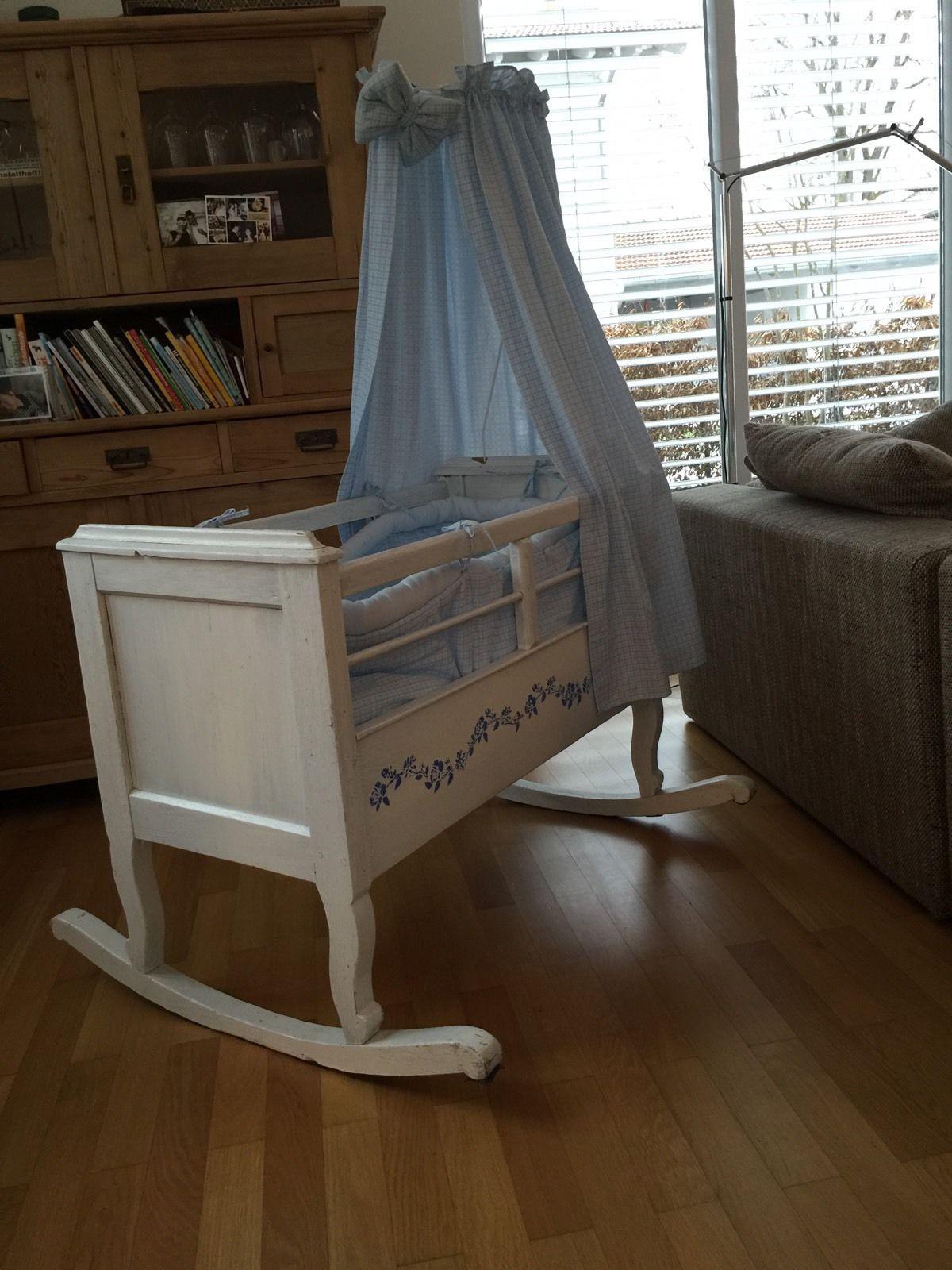 Relativ Kinderwiege Kinderbett Schaukelwiege Stubenwagen Babybett | eBay NK36