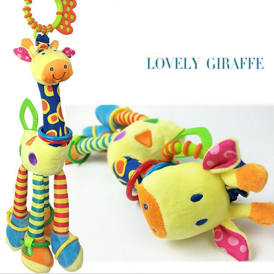 The giraffe car hanging bed the bell Infants toy  Adeline Christmas