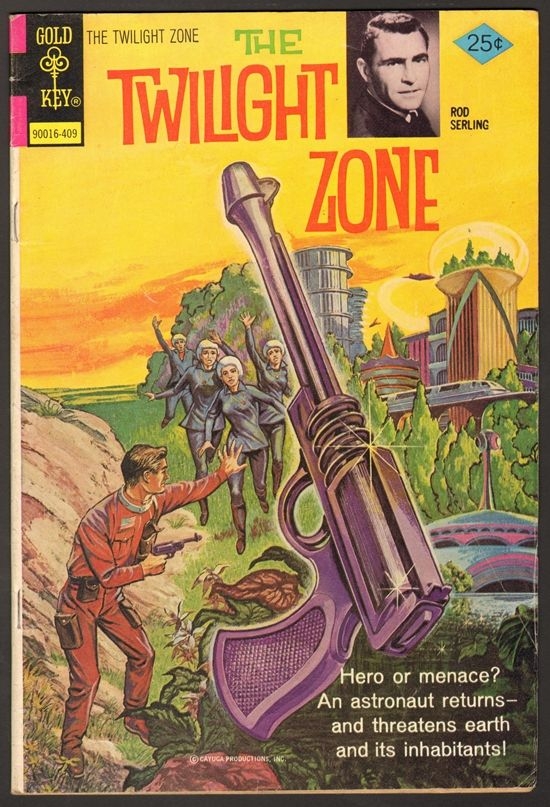 Old Book Cover Zone : The twilight zone comic publisher gold key comics