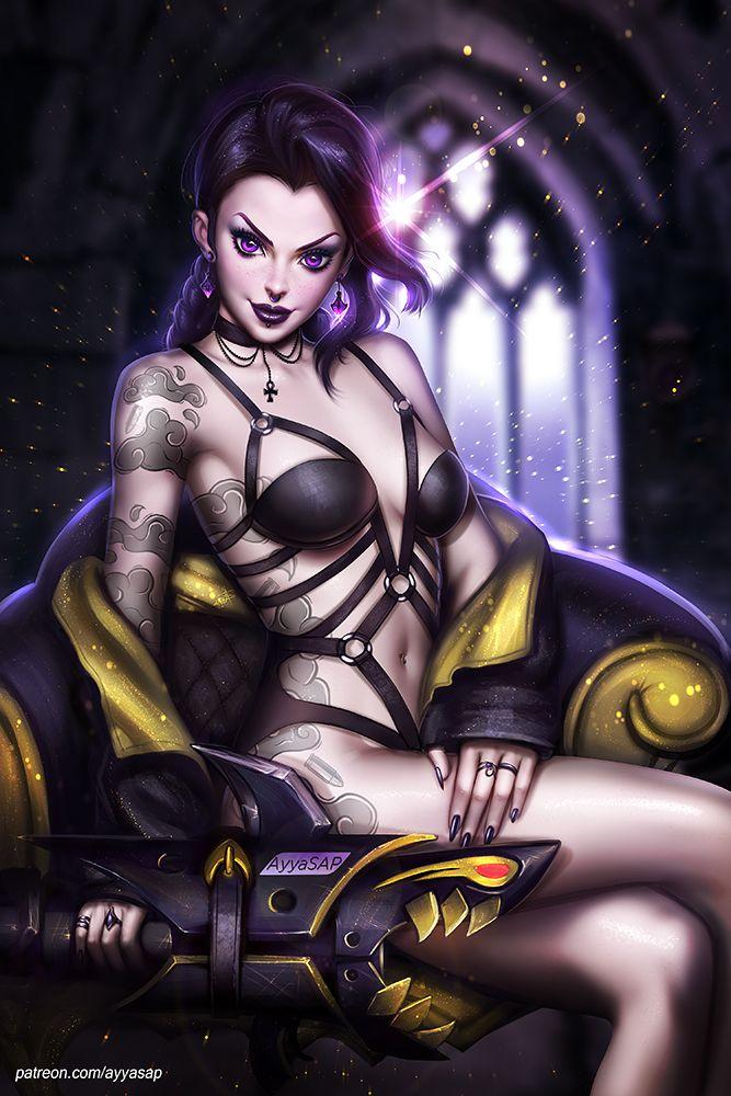 Liga der sexy Mädchen nsfw