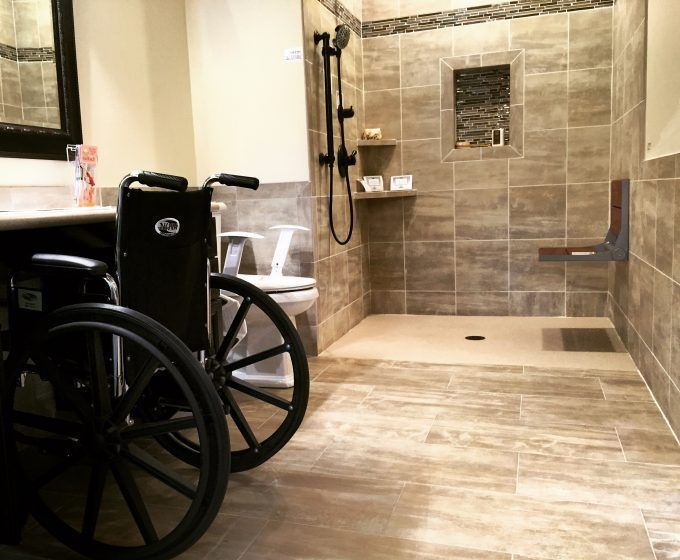Accessories: Handicap Shower Accessible Systems For Your Bathroom ...