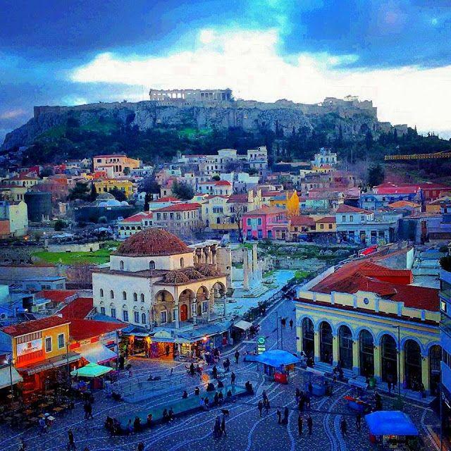 Andate ad Atene? Fate benissimo. Vi do quindi qualche ...