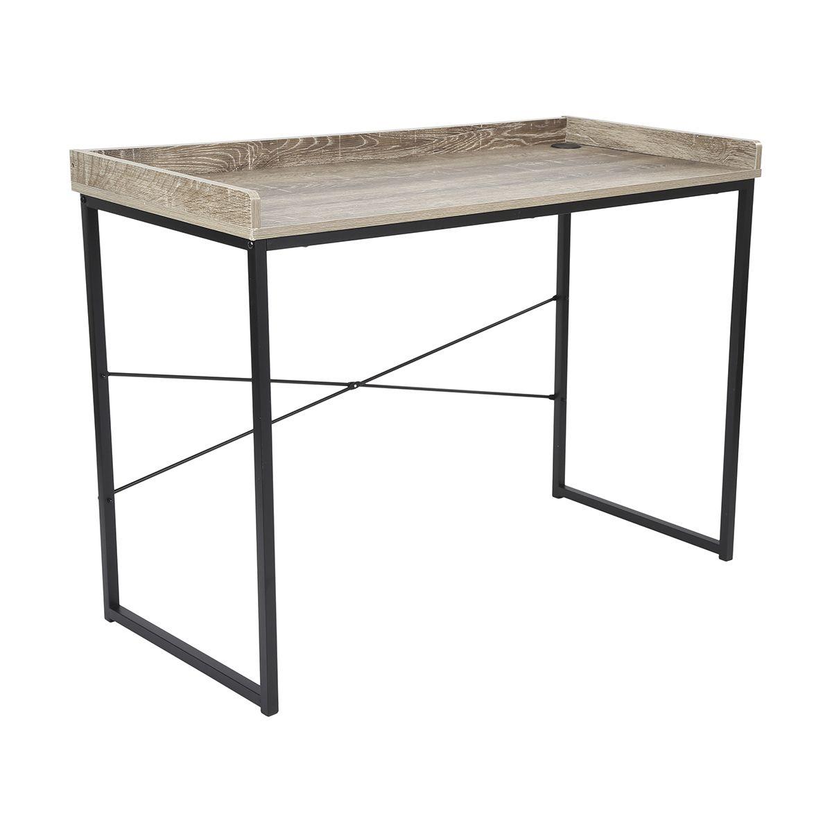Industrial Desk Kmartnz Budget Furniture Industrial Decor Home Decor