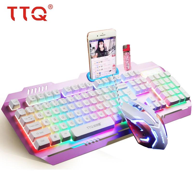 TTQ KM1 USB Gaming Keyboard & Mouse Gaming room setup