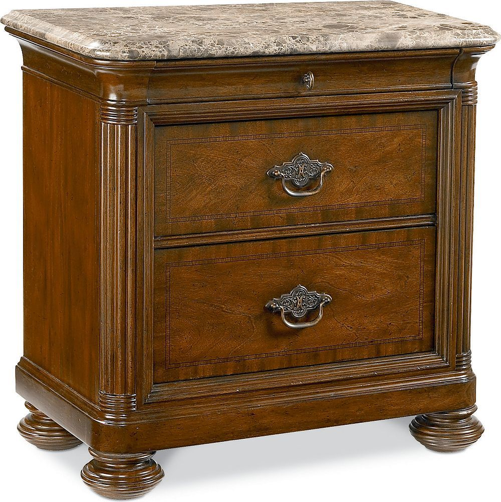 Nairobi Night Stand (Marble top) During the two trips he